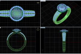 JEWELLERY (CAD DESIGNING)