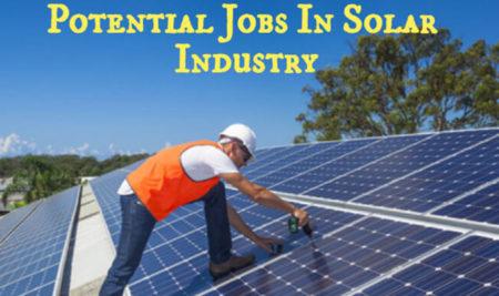 JOB OPPORTUNITIES IN SOLAR SECTOR