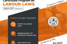Certificate Program on Labour Laws