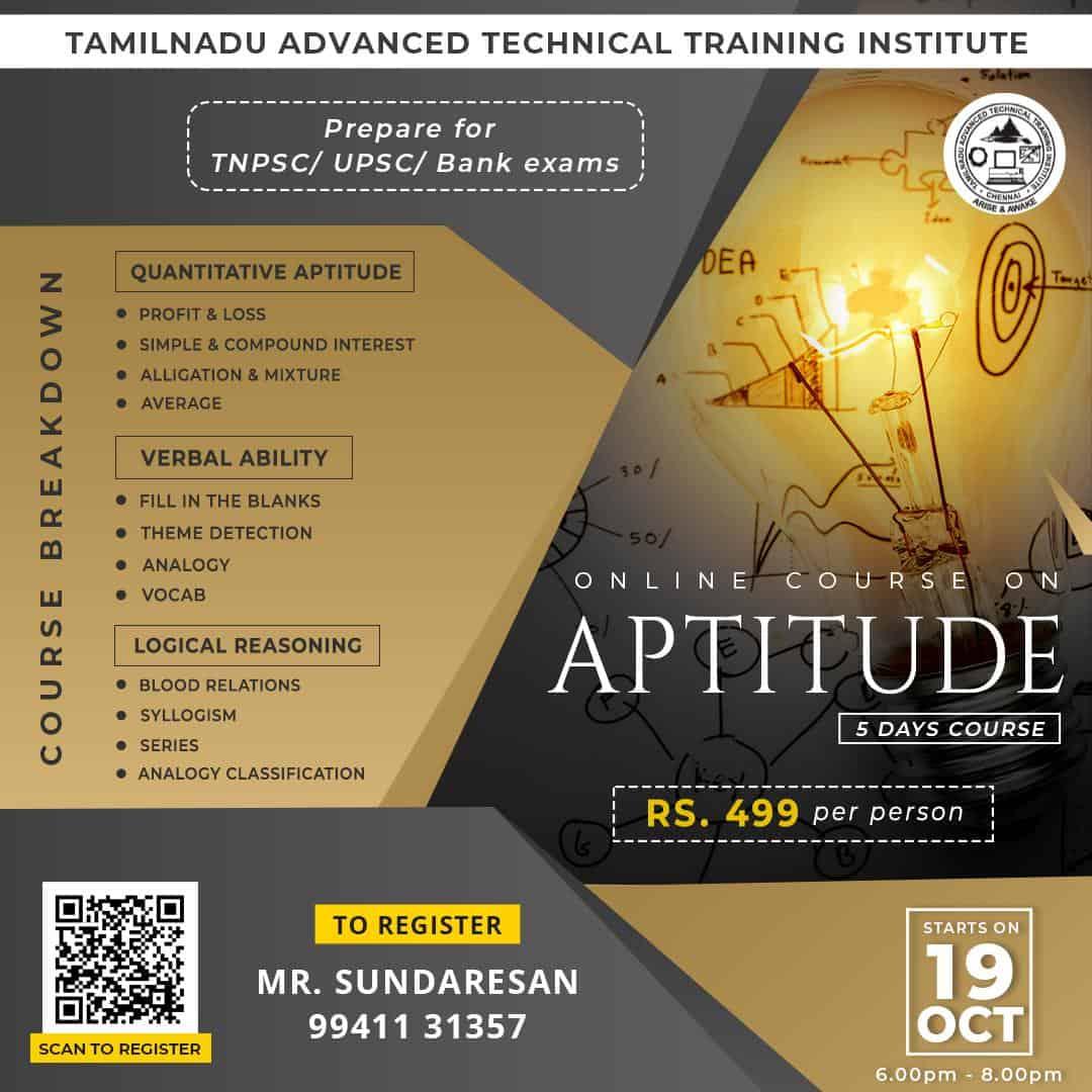 aptitude – oct 19
