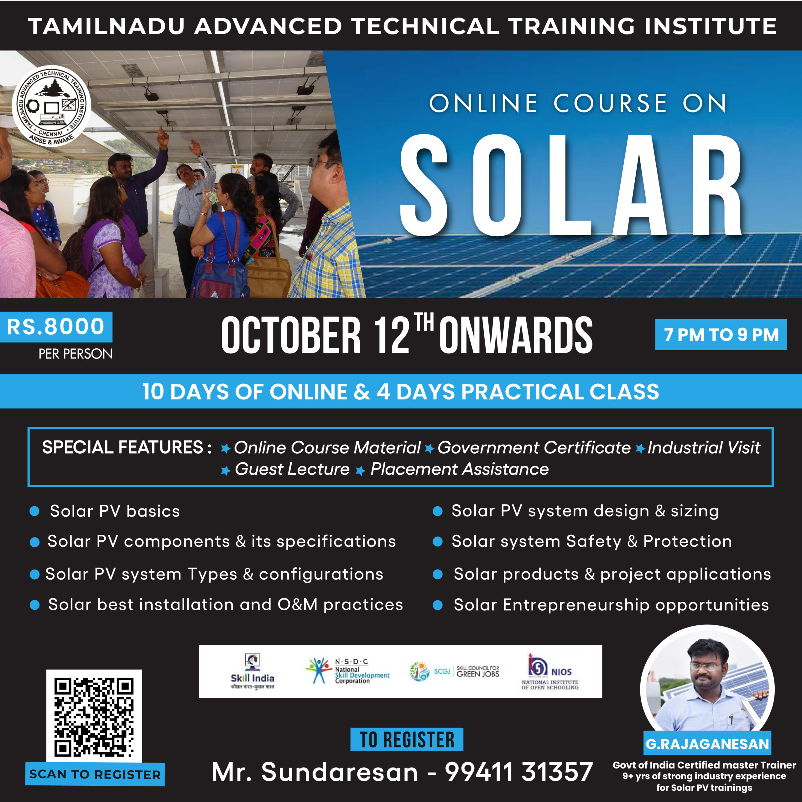 Online course on Solar 2-01