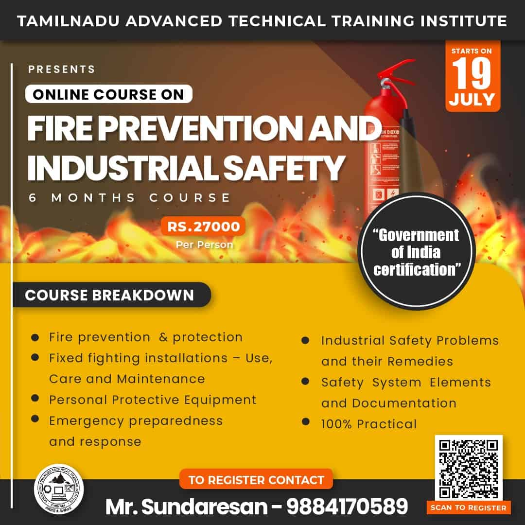 fire and safety july