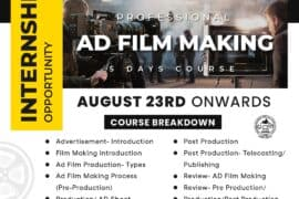 AD FILM MAKING – ONLINE