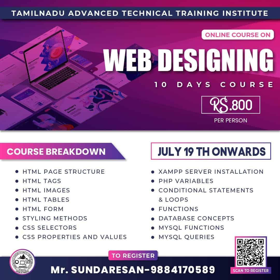 web designing-july
